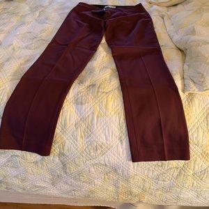 Women's straight leg dress pants Like new!
